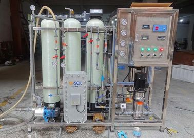 EDI Ultrapure Water System / Machine For Purifying Pharmaceutical / Cosmetic Water