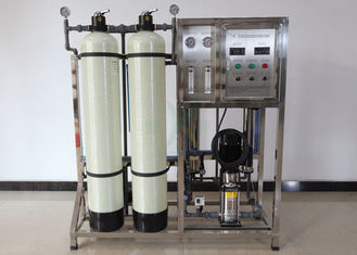 Manual Control And FRP Tank  0.5TPH RO Water Treatment System Reverse Osmosis Filtration Plant Chemicals 500LPH