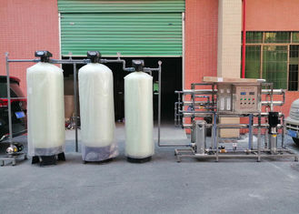 2000L/H Softener RO System Hardness TDS Remove For Boiler Industrial Water Filter